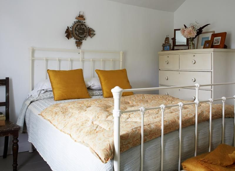 Want Country Bedroom Decorating Ideas? Take A Look At This Attic Bedroom  With Yellow Soft Furnishings For Decorating Inspiration. Find More Bedroom  De