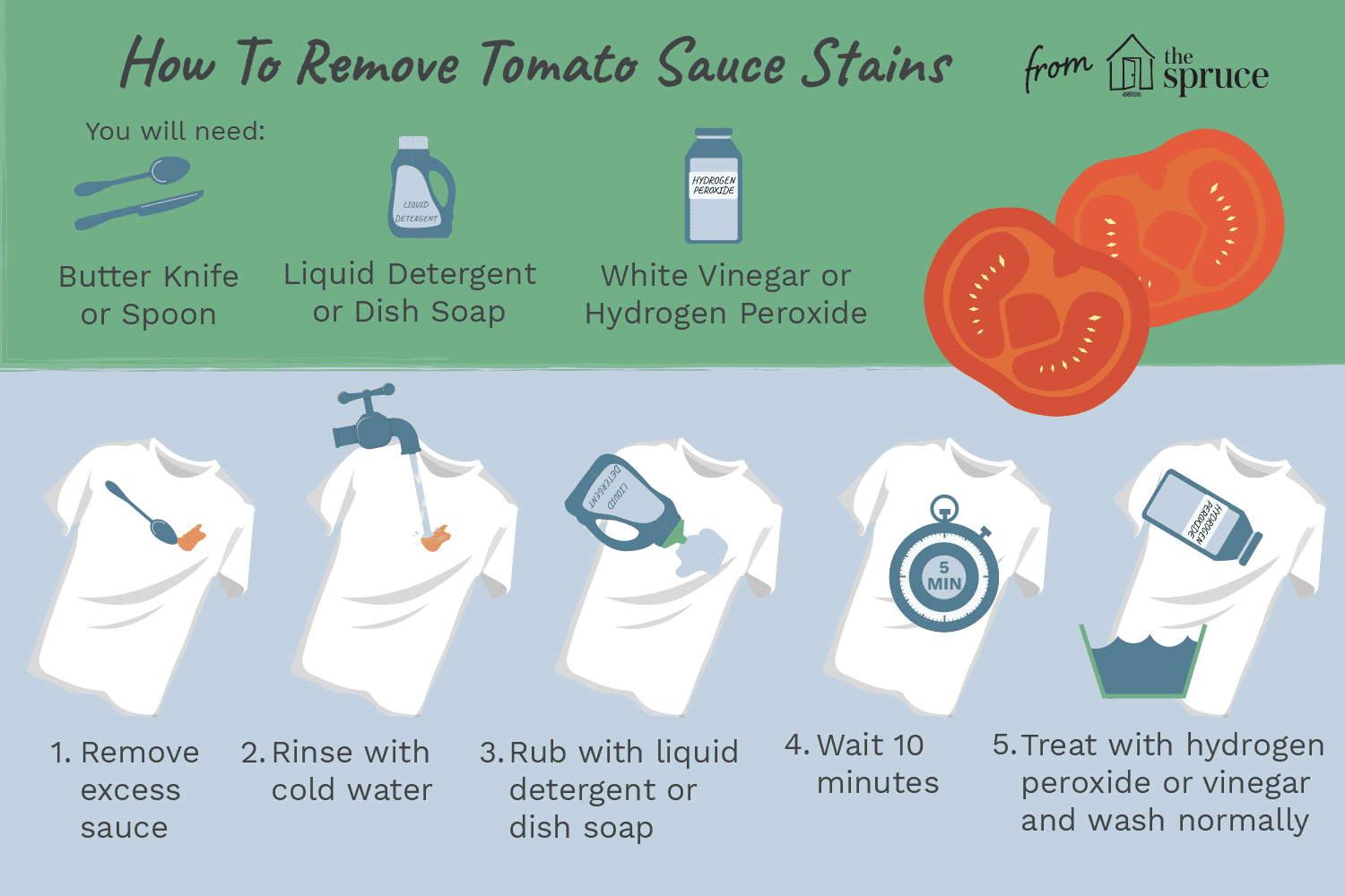 Removing Tomato Sauce Stains From Clothing Cleaning Hacks House Cleaning Tips Deep Cleaning Tips