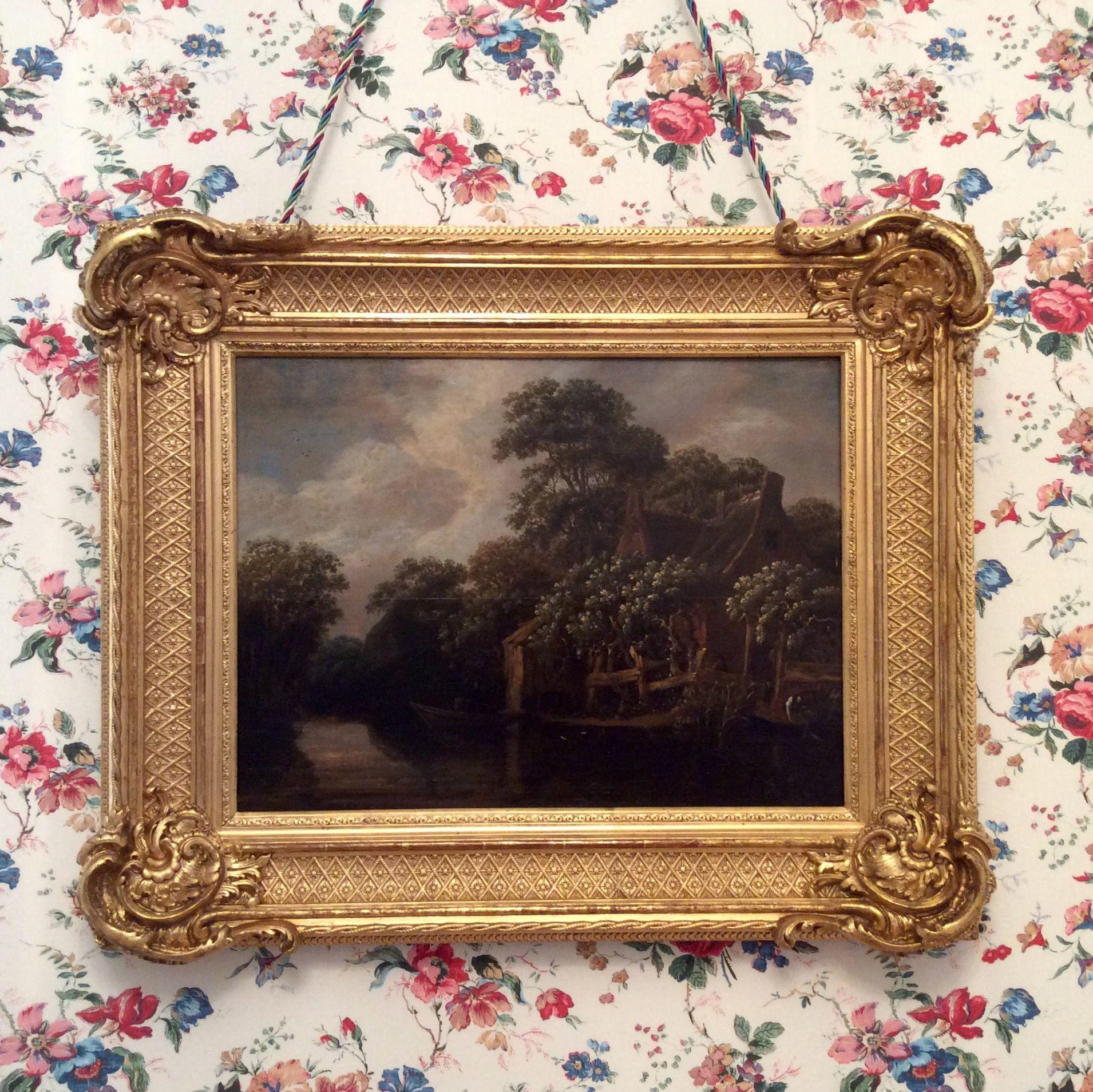 Xixth Century Louis Xv Rococo Revival Picture Frame Big  # Muebles Federici