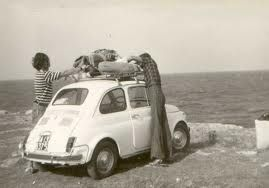 summer holiday with Fiat500