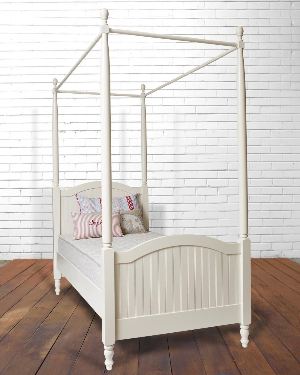 Single 4 Poster Bed Part - 16: BLOOMSBURY SINGLE 4 POSTER BED