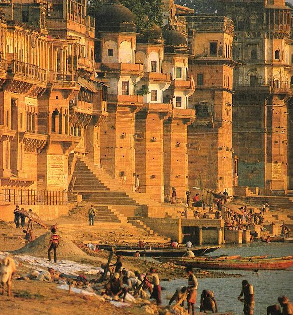 Varanasi (also Benares or Kashi) - is a city on the banks of the Ganges in Uttar Pradesh, India. It is holiest of the seven sacred cities (Sapta Puri) in Hinduism and Jainism. It is one of the oldest continuously inhabited cities in the world and the oldest in India.