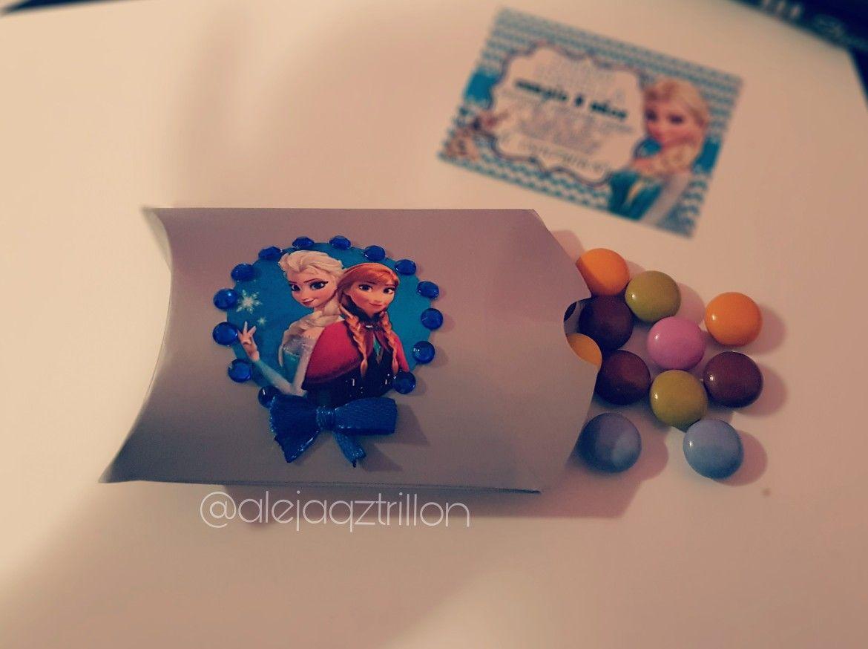 Invitaciones de frozzen llenas de mucho cariño y chocolate!!!