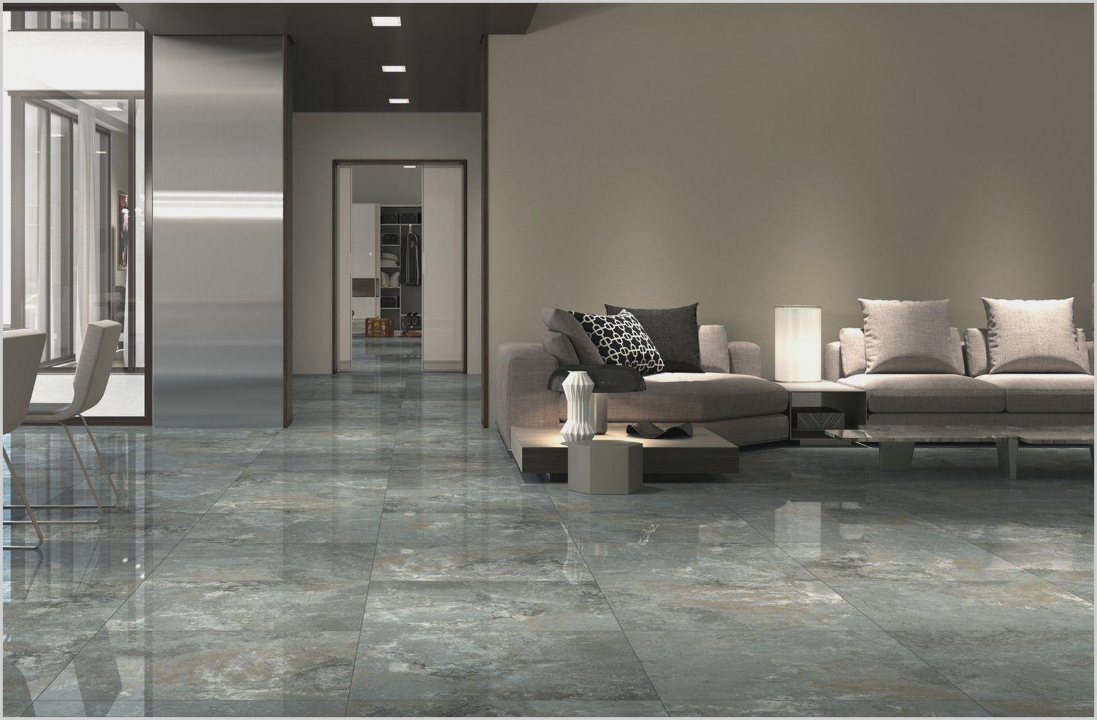 Simple Grey Living Room Floor Tiles Di 2020