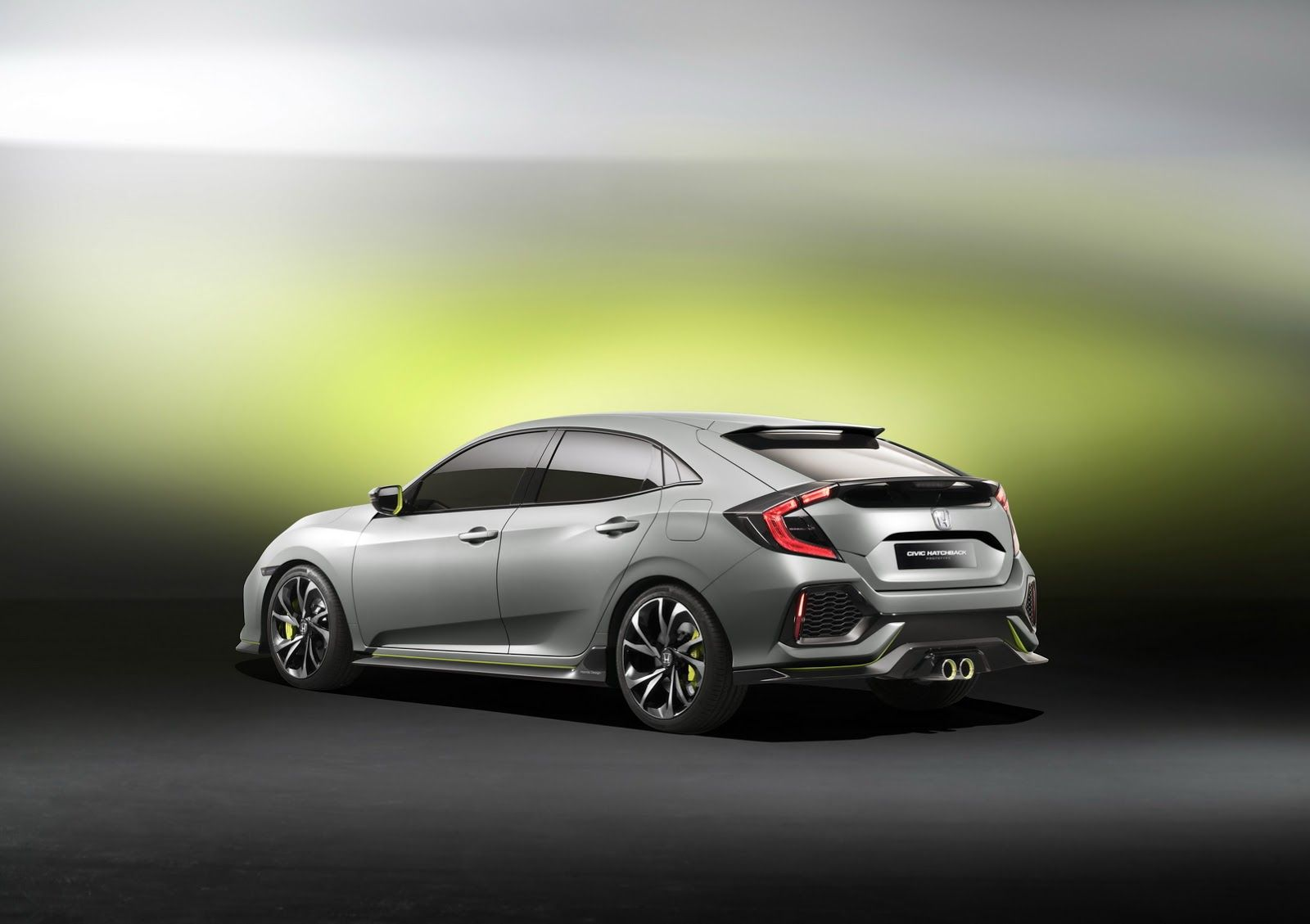 Honda Unveils Next Gen Civic Hatchback Prototype