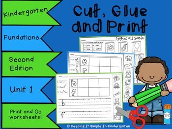 Do Your Students Need A Little Extra Practice With Beginning Sounds And Printing Letters These Worksheets Follow The Order Of Taught Using