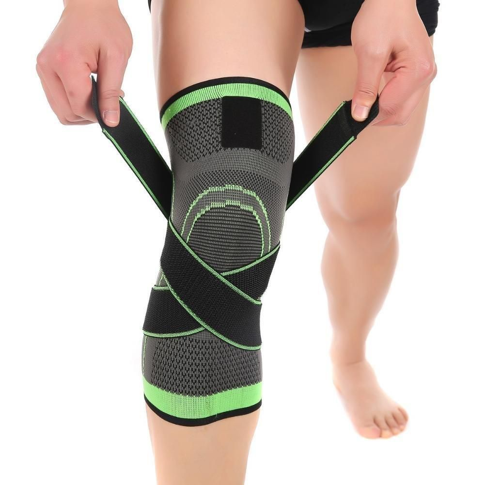 Knee Brace Compression Sleeve with Patella Stability Straps | Knee support  sleeve, Sports knee brace, Knee compression sleeve