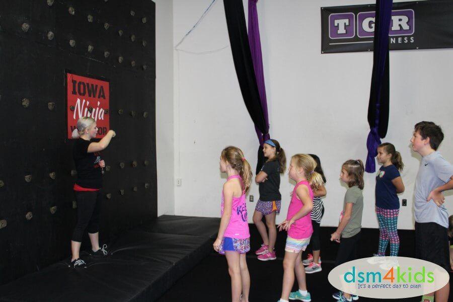 Ninja Warrior Birthday Parties At TGR Fitness In Des Moines Dsm4kids
