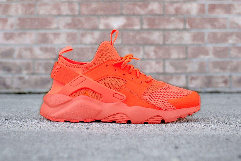 Best Drop Shipping Nike Air Huarache Run(GS) Mens running shoes White blue orange