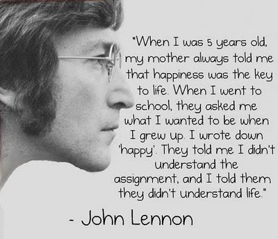 Tri Tawn What Do John Lennon I Have In Common John Lennon Quotes Up Quotes Happy Quotes