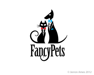 Fancypets By Jerron Logo Design Logo Illustration Design Animal Logo