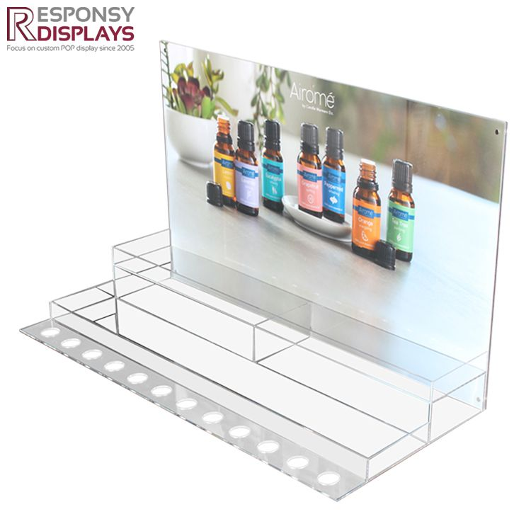 Premium Cost Effective Table Top Clear Acrylic Essential Oil