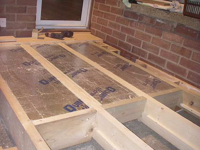 Floor insulation insulation plywood and walls for Cold floor insulation