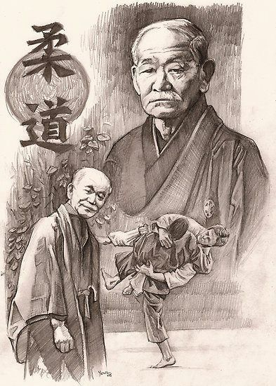 Jigoro Kano...founder of Judo...1888