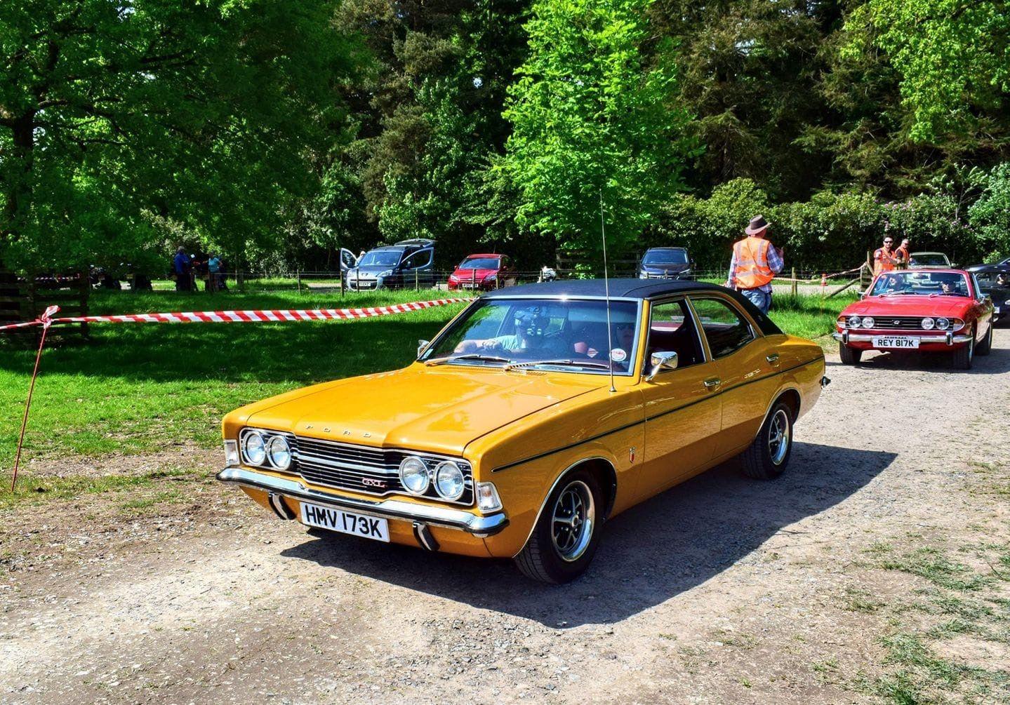 Ford Cortina Gxl English