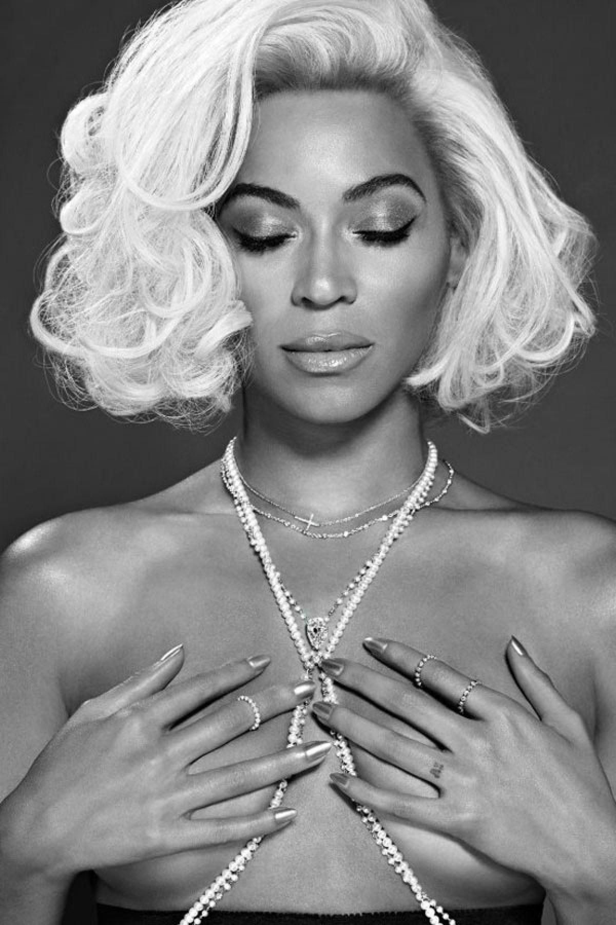 Beyoncé Desnuda Para Out Marilyn Beyonce Desnudos Y Cantantes