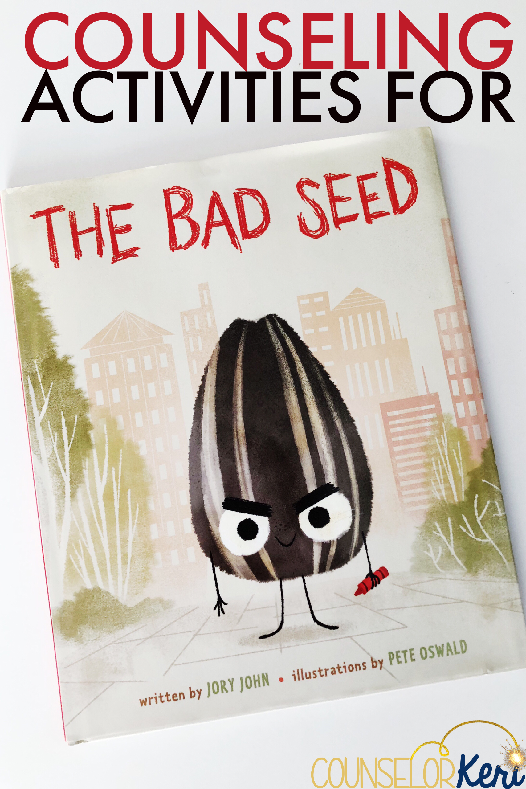 The bad seed activity and classroom guidance lesson school school counseling activities for the book the bad seed perfect for classroom guidance lessons fandeluxe Image collections