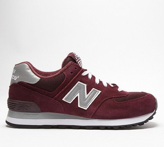 new balance m574 bordeaux