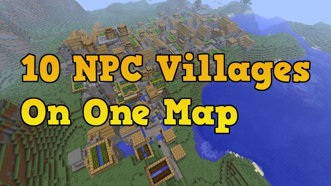 Minecraft (Xbox 360) - Best seed ever? 9.1 VILLAGES AND ...