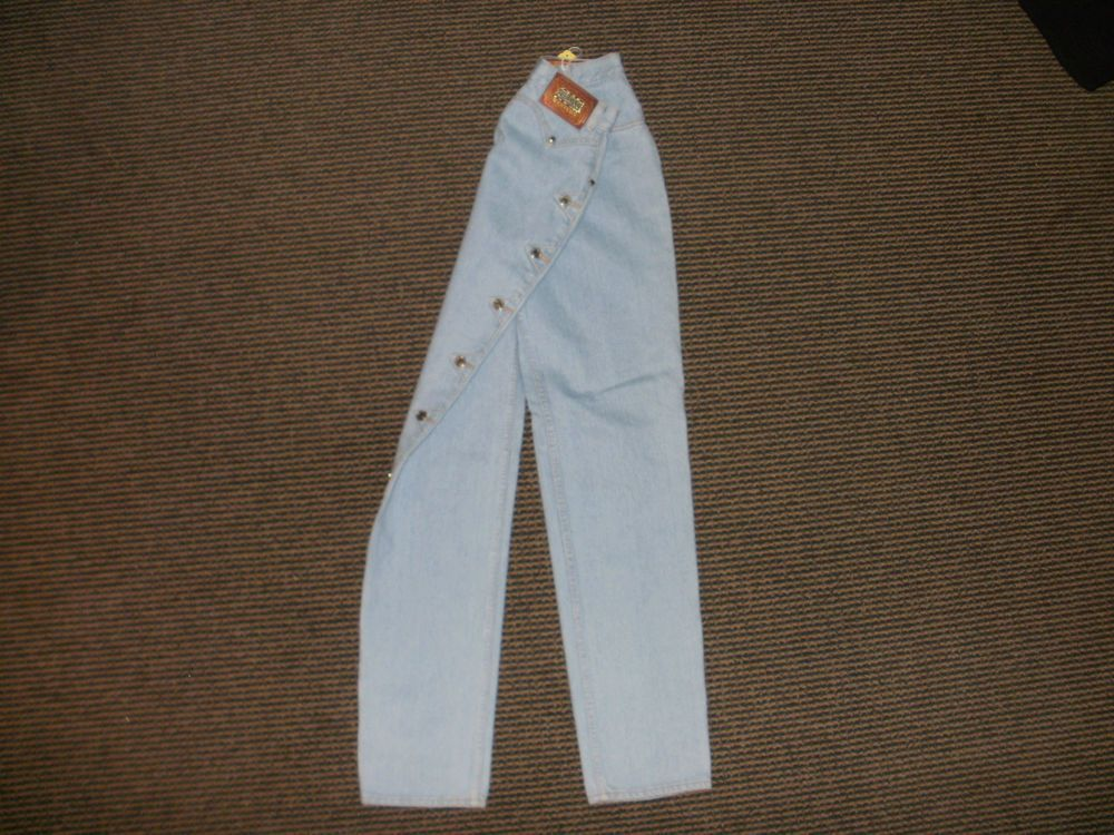 WOMAN'S JEANS DESIGNER LAWMAN WESTERN COLOR LIGHT BLUE SIZE 5 SLIM FIT, BNWT #LAWMANWESTERNBRAND #BootCut
