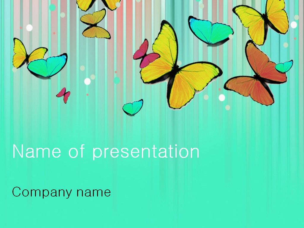 Butterfly powerpoint template templates pinterest template modern light powerpoint template background for presentation free toneelgroepblik Gallery