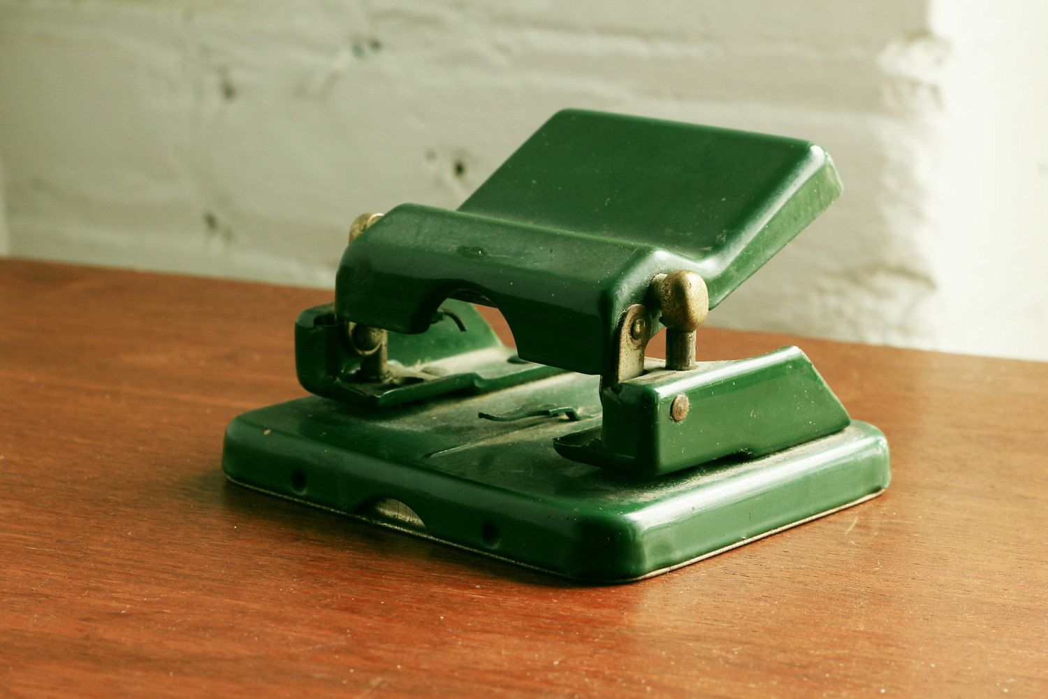 German Industrial Hole Punch - Leitz of Germany - Paper Puncher. via Etsy.