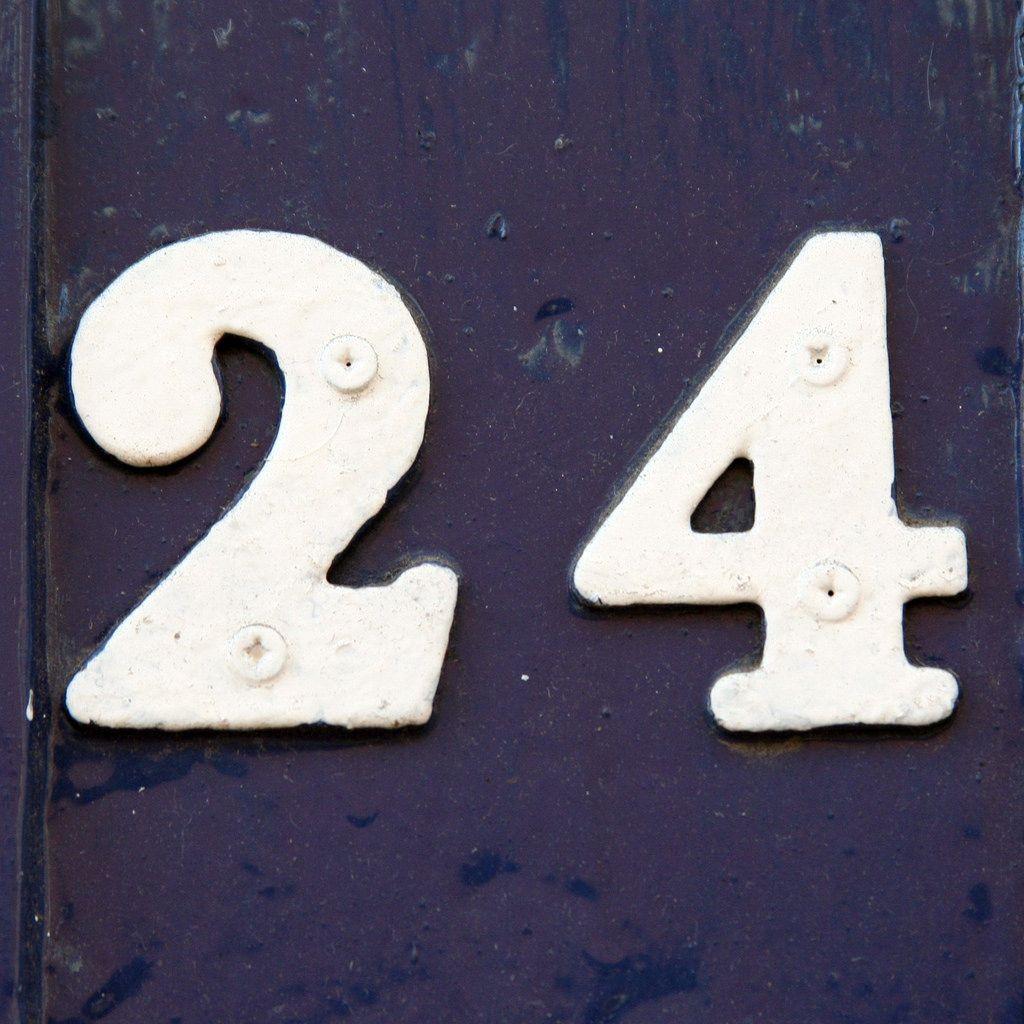 24 24th anniversary numbers reynolds