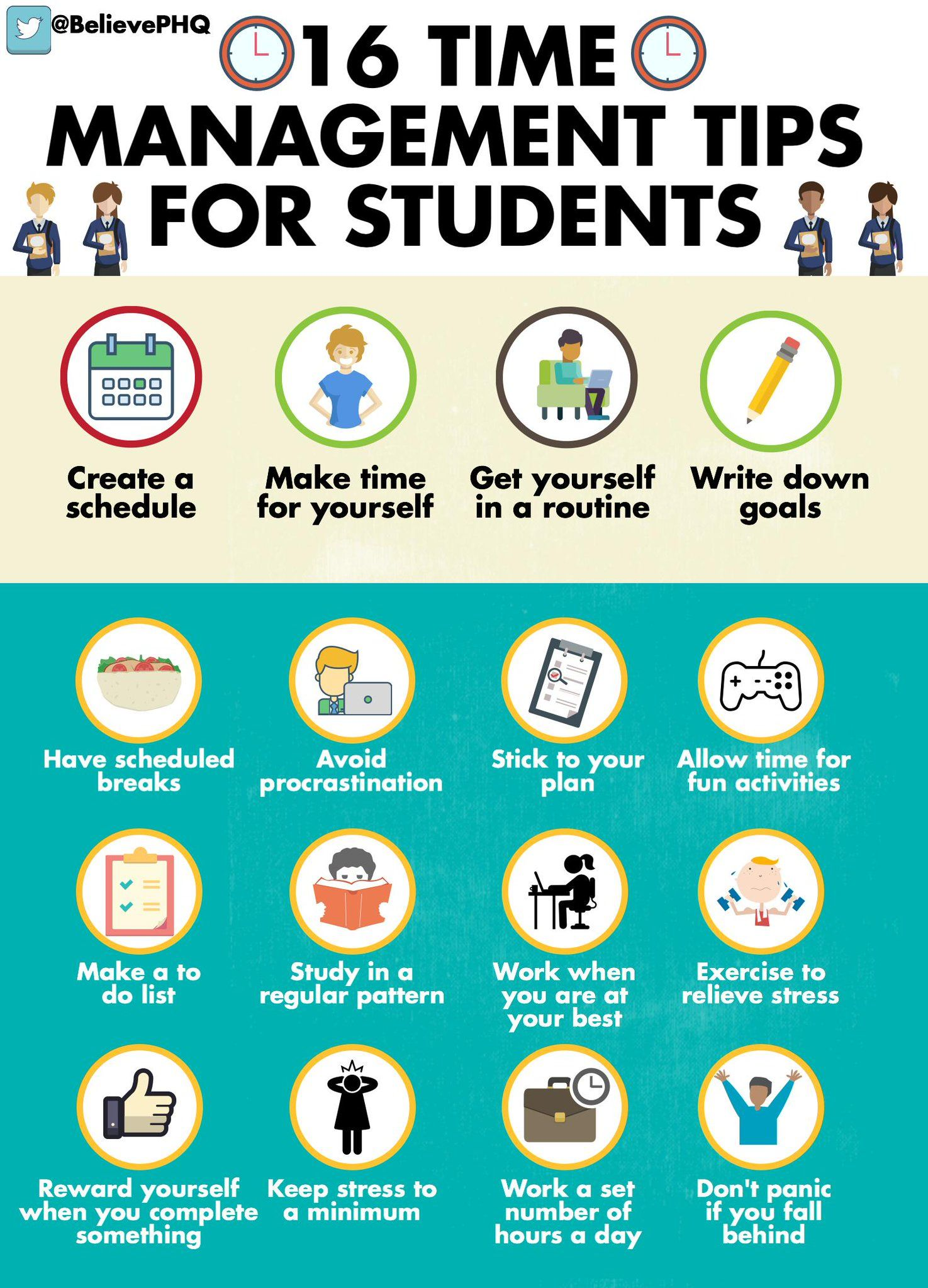 Time Management Tips For Teenagers And Parents Pinned By