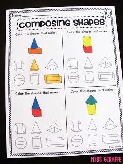 composing shapes in 1st grade math kindergarten math kindergarten math worksheets first. Black Bedroom Furniture Sets. Home Design Ideas