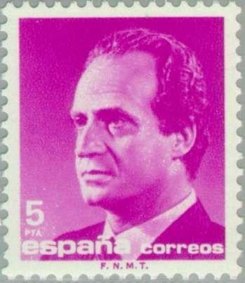 Znaczek: King Juan Carlos I (Hiszpania) (King Juan Carlos I (1985-1992)) Mi:ES 2679,Sn:ES 2420,Yt:ES 2414,Sg:ES 2813,Edi:ES 2795,Un:ES 2414