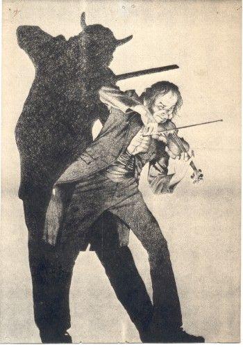 Pin En El Violinista Del Diablo
