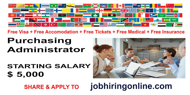 Purchasing Administrator Job Search Administration Job Opening