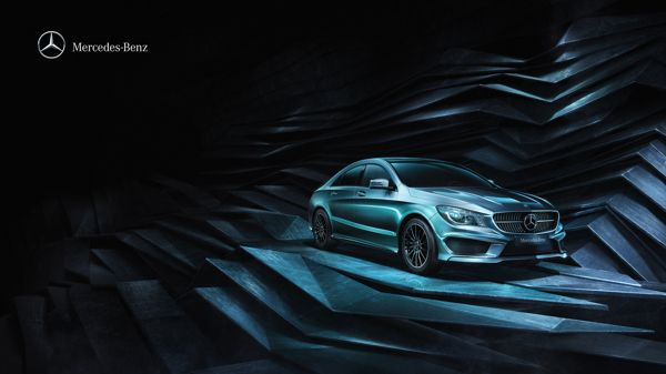 Mercedes-Benz CLA by Peter Jaworowski, via Behance  Executive Creative Director: Peter Jaworowski Art Director: Pawel Szklarski 3D Artist: Pawel Szklarski Digital Artist: Karol Klonowski