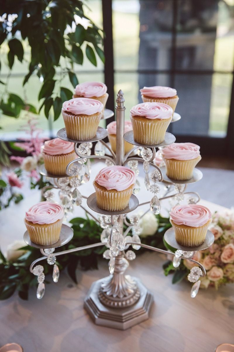 Wedding cake table decor ideas  Opulent Treasures  Cupcake stands Weddings and Dessert table