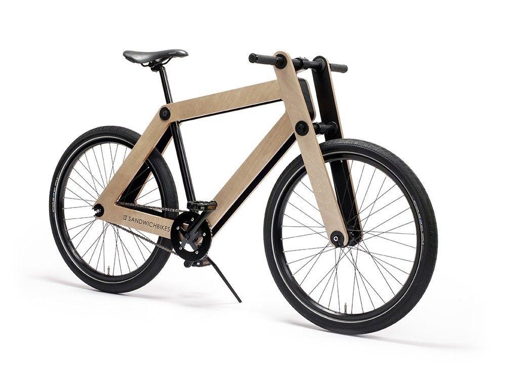 Sandwichbike Wooden Bike Design Is This Wooden Bike Bicycle Bike Design