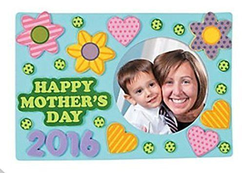 Happy Mothers Day 2016 picture frame Craft Kits - 12 sets