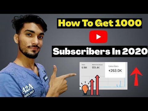 Starting Ke 1000 Subscriber Kaise Badaye || Get 1st 1000 Subscribers On YouTube | Free Youtube Subs - YouTube