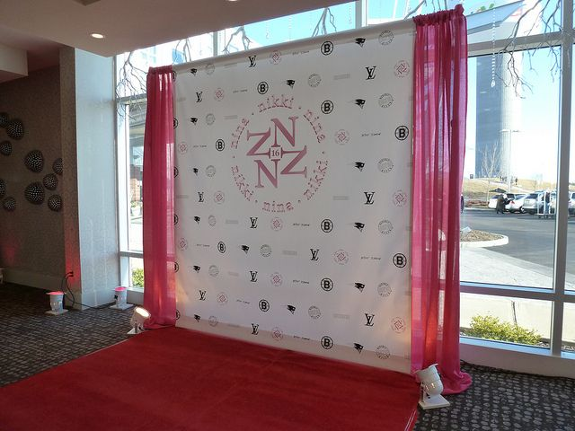 Step And Repeat Mural Sweet 16 Party Sweet 16 Parties Sweet Sixteen Parties Party