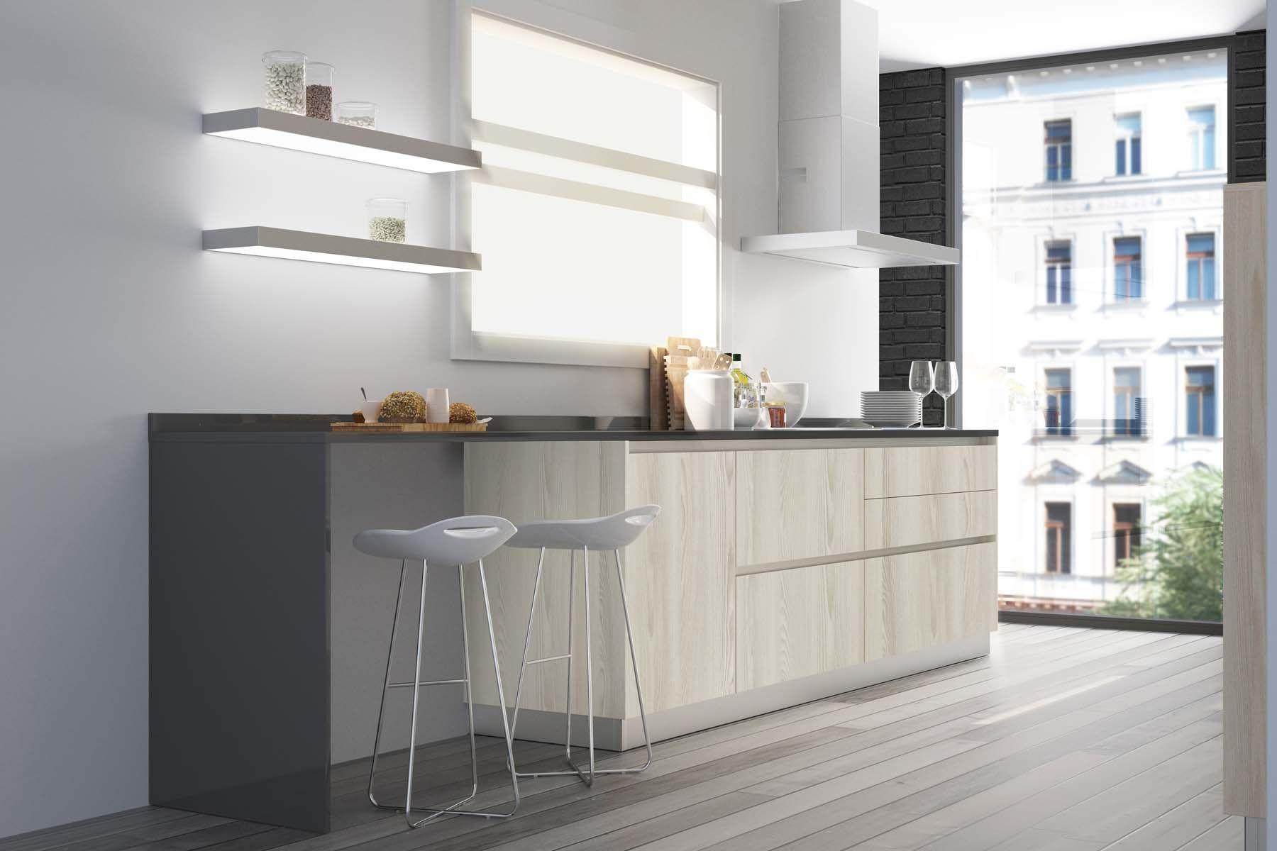 Espacio Para La Cocci N Organizado Con Una Bater A De Cajones Y  # Muebles Xp Instalaciones