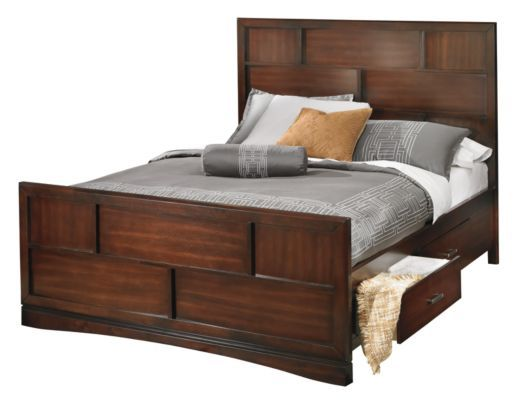 Another storage bed option