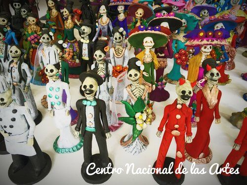 Centro Nacional de las Artes, Mexico City, Mexico - A place to understand Dia de muertos in a very nice place, a lot of activities for children's