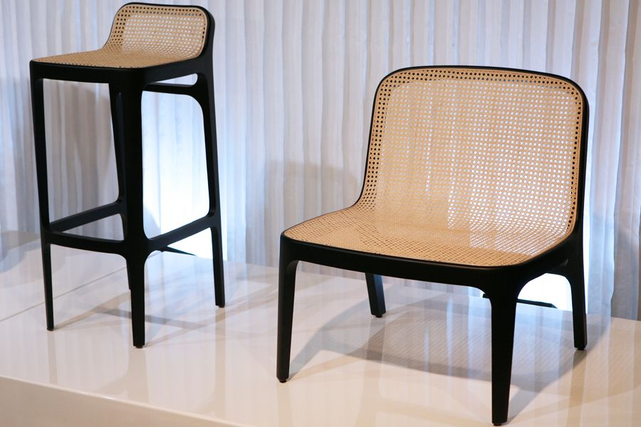 yume seat collection designed by jean marc gady for perrouin wiliam b chet yook furnt. Black Bedroom Furniture Sets. Home Design Ideas