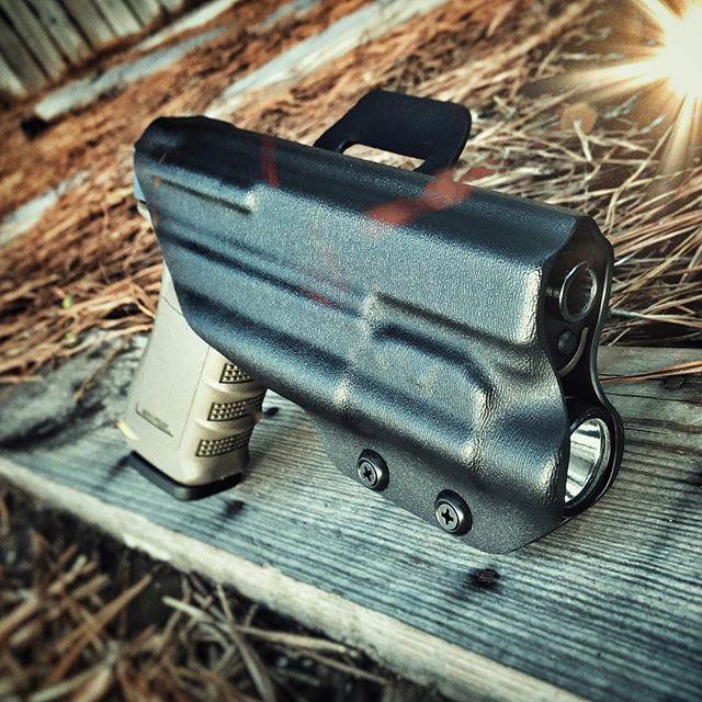 Glock 20 w/TLR-1 OWB Holster   DaraHolsters com