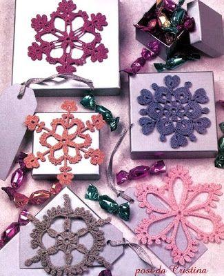 http://luncinettodicristina.blogspot.com: Fiocchi di neve colorati