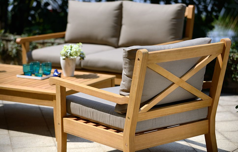 Higher Inclination For Wooden Garden Furniture Outdoor