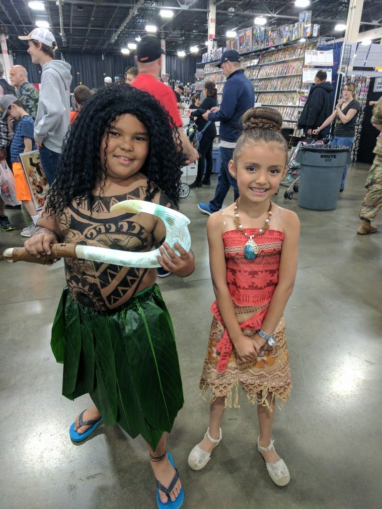 Awesome DIY Moana Maui Costume Halloween Costume Idea