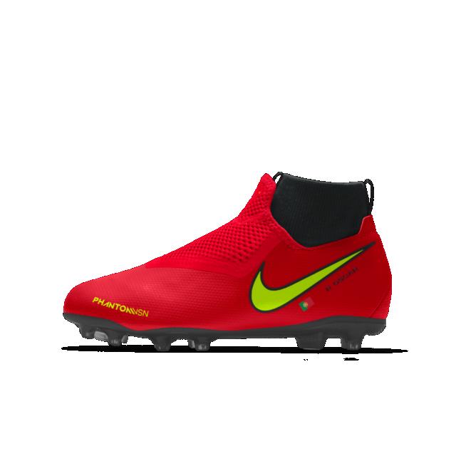 grosor Asistente Vuelo  Nike Phantom Vision Academy Jr. MG iD Older Kids' Multi-Ground Football  Boot | Soccer boots, Custom football boots, Custom soccer cleats