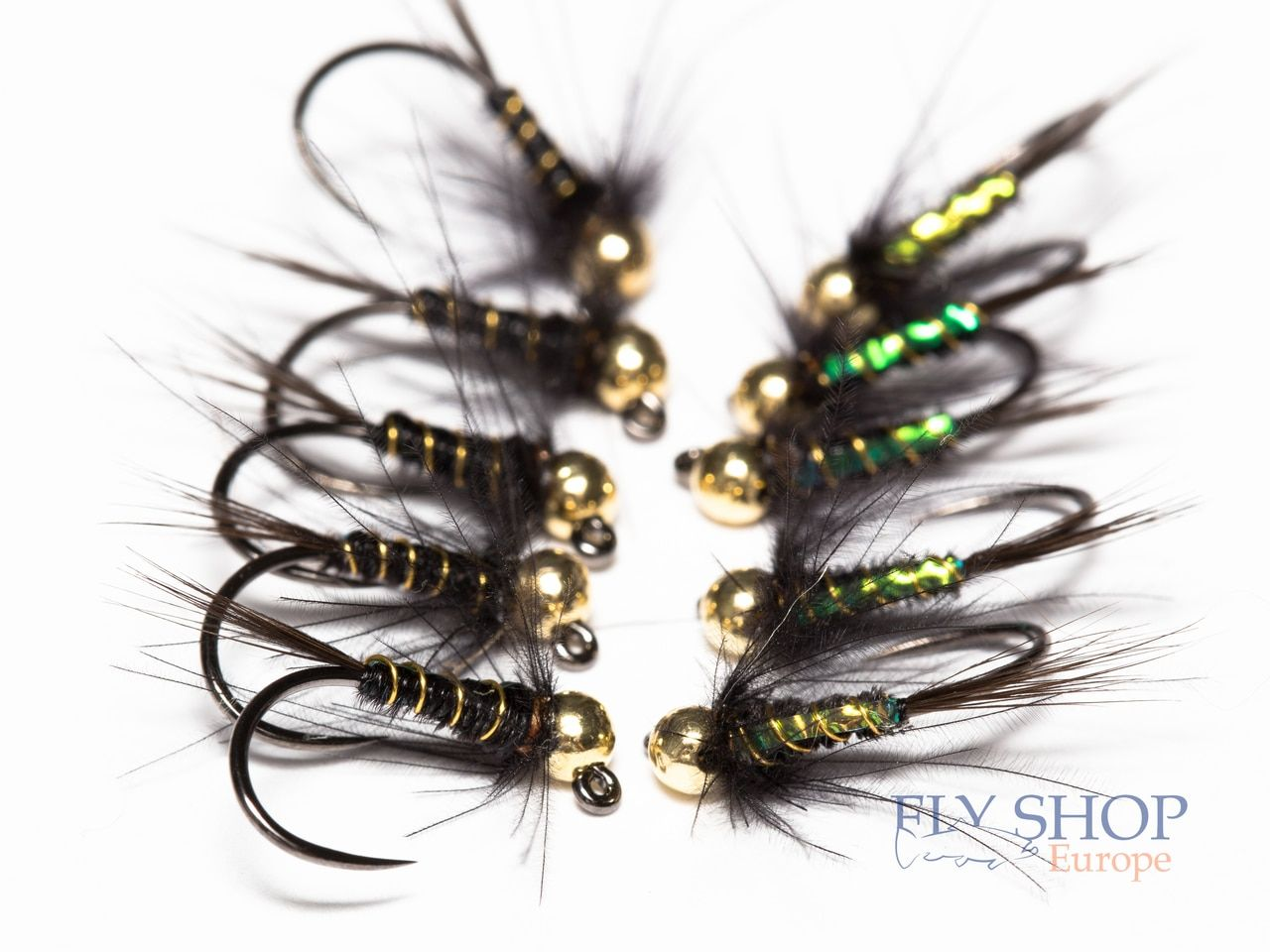 Fly Fishing 50 Size 16 Nymph Wet Flies Fly Tying Hooks QTY High Quality