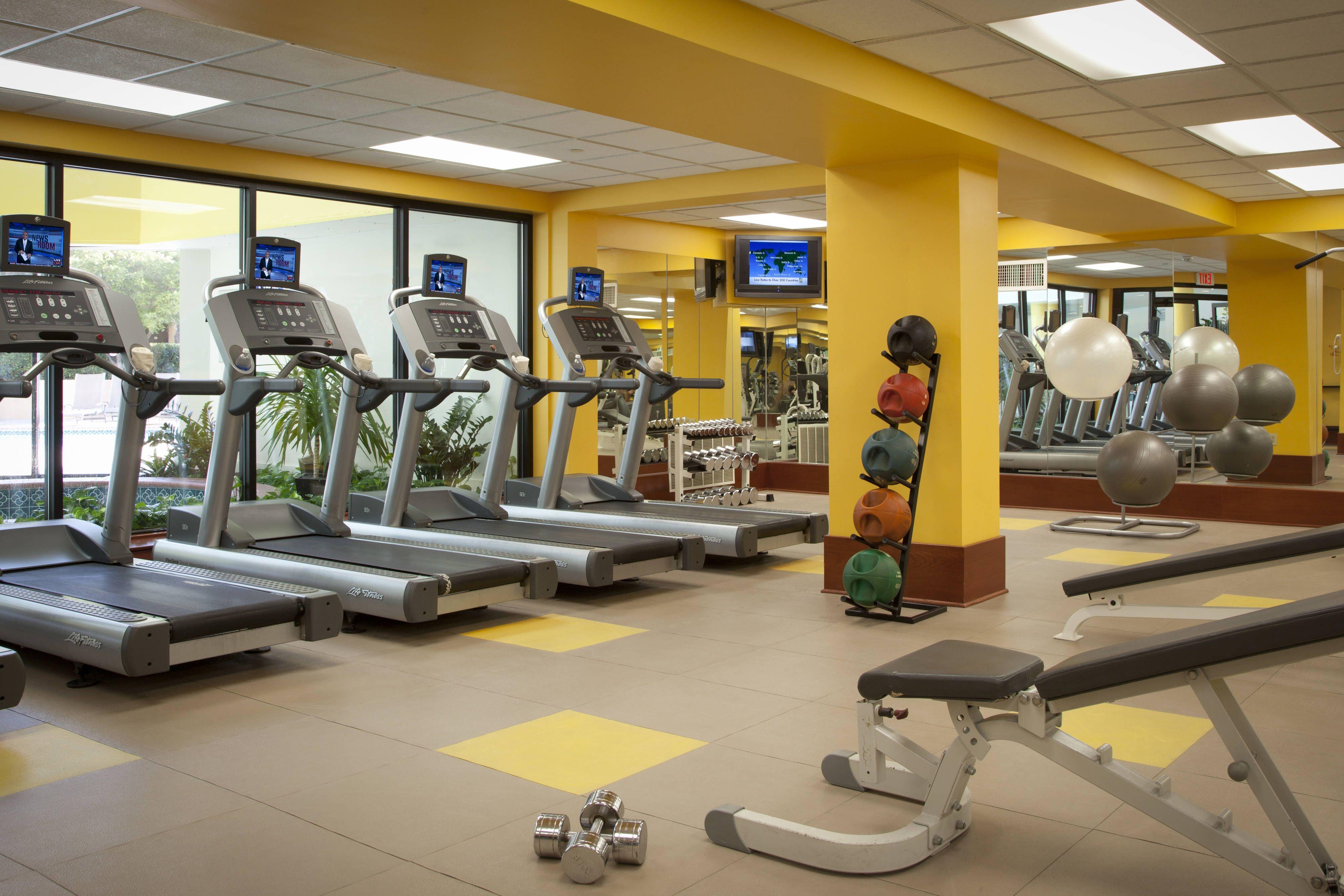 Dallas Fort Worth Airport Marriott Fitness Center Guestroom Hotels Guest Dallas Fort Worth Fort Worth Hotel