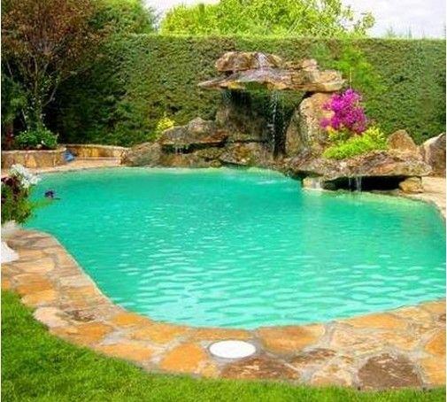 Hay piscinas y piscinas paisajismo landscaping for Disenos de cascadas para piscinas